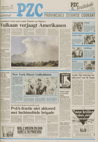 Provinciale Zeeuwse Courant 1991-06-11