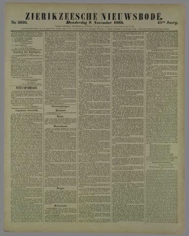 Zierikzeesche Nieuwsbode 1888-11-08