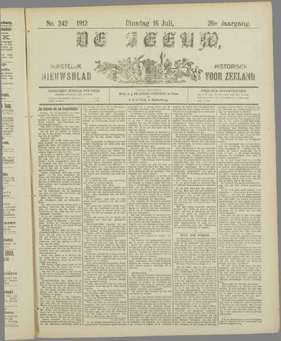 De Zeeuw. Christelijk-historisch nieuwsblad voor Zeeland 1912-07-16