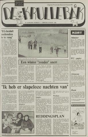 Provinciale Zeeuwse Courant katern Krullenbak (1981-1999) 1983-03-08
