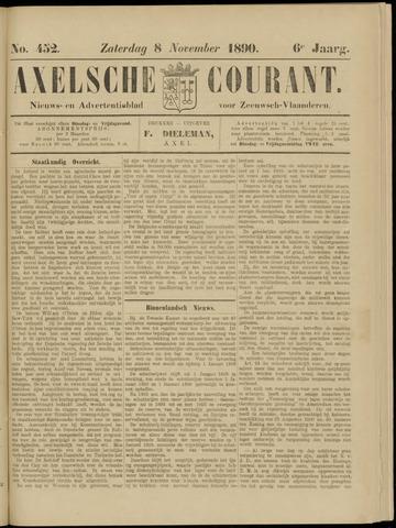 Axelsche Courant 1890-11-08