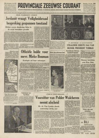 Provinciale Zeeuwse Courant 1956-10-16
