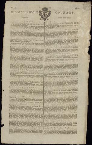 Middelburgsche Courant 1814-09-06
