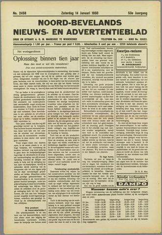 Noord-Bevelands Nieuws- en advertentieblad 1950-01-14