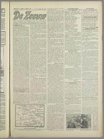 De Zeeuw. Christelijk-historisch nieuwsblad voor Zeeland 1943-09-10