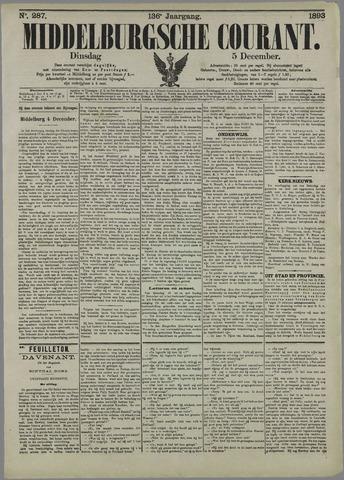Middelburgsche Courant 1893-12-05