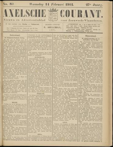 Axelsche Courant 1912-02-14