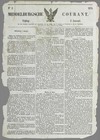 Middelburgsche Courant 1874