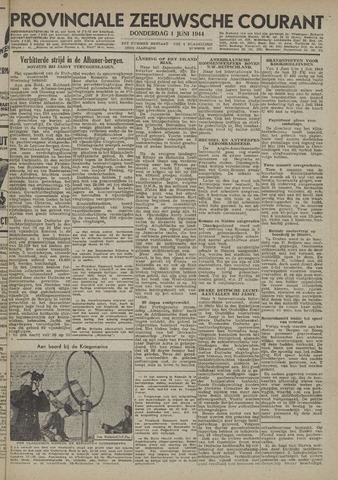 Provinciale Zeeuwse Courant 1944-06-01