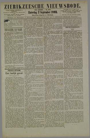 Zierikzeesche Nieuwsbode 1893-09-02