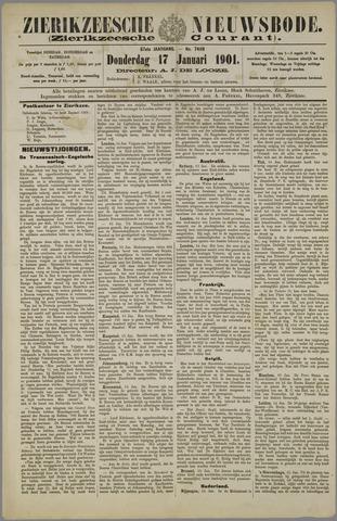 Zierikzeesche Nieuwsbode 1901-01-17