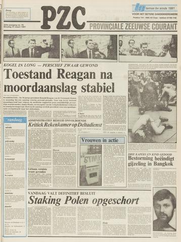 Provinciale Zeeuwse Courant 1981-03-31