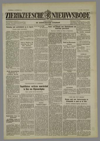 Zierikzeesche Nieuwsbode 1954-11-04