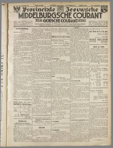 Middelburgsche Courant 1933-11-29