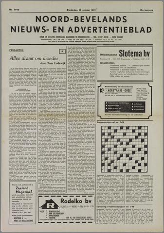Noord-Bevelands Nieuws- en advertentieblad 1981-10-29