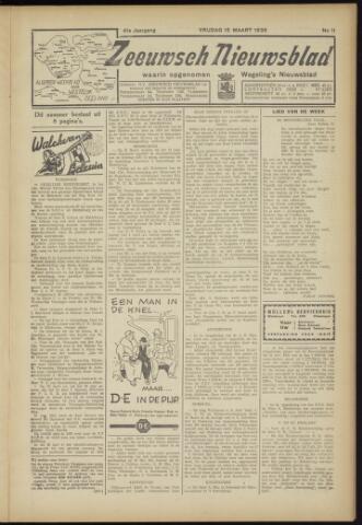 Zeeuwsch Nieuwsblad/Wegeling's Nieuwsblad 1935-03-15
