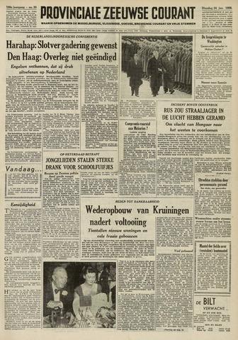 Provinciale Zeeuwse Courant 1956-01-24