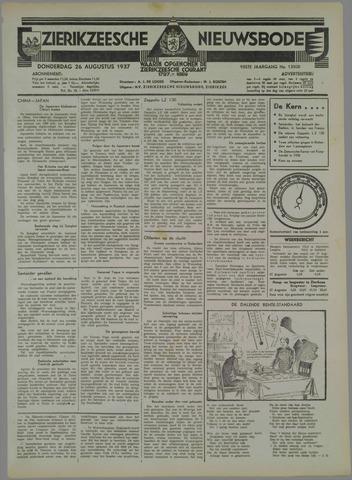 Zierikzeesche Nieuwsbode 1937-08-26