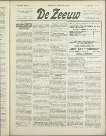 De Zeeuw. Christelijk-historisch nieuwsblad voor Zeeland 1934-06-18