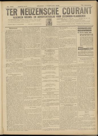 Ter Neuzensche Courant. Algemeen Nieuws- en Advertentieblad voor Zeeuwsch-Vlaanderen / Neuzensche Courant ... (idem) / (Algemeen) nieuws en advertentieblad voor Zeeuwsch-Vlaanderen 1936-02-07