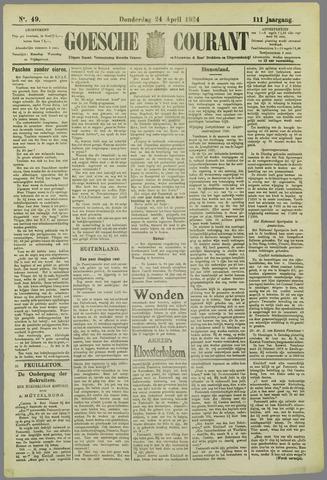 Goessche Courant 1924-04-24