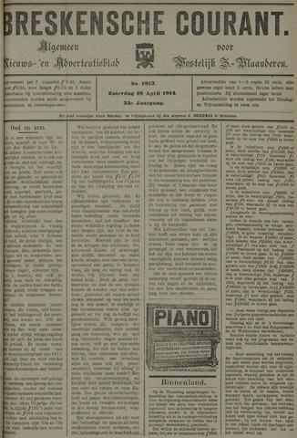 Breskensche Courant 1914-04-18