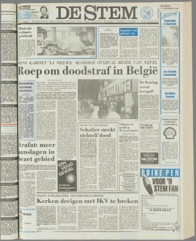 de Stem 1985-11-11