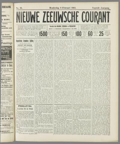 Nieuwe Zeeuwsche Courant 1913-02-06