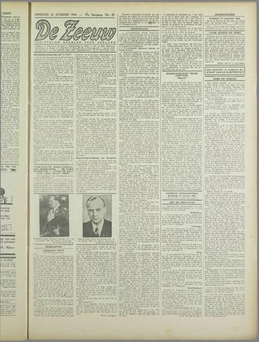 De Zeeuw. Christelijk-historisch nieuwsblad voor Zeeland 1943-01-12