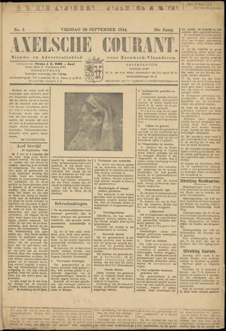 Axelsche Courant 1944