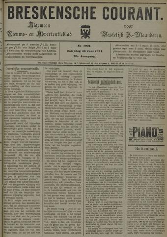 Breskensche Courant 1914-06-13