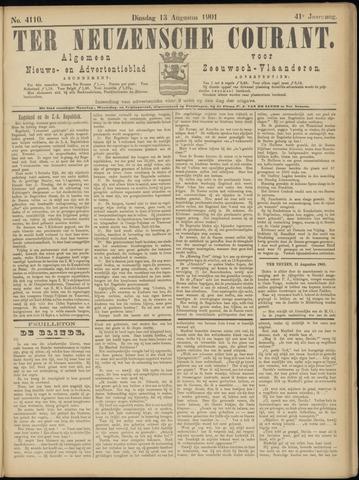 Ter Neuzensche Courant. Algemeen Nieuws- en Advertentieblad voor Zeeuwsch-Vlaanderen / Neuzensche Courant ... (idem) / (Algemeen) nieuws en advertentieblad voor Zeeuwsch-Vlaanderen 1901-08-13