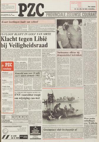 Provinciale Zeeuwse Courant 1986-03-26