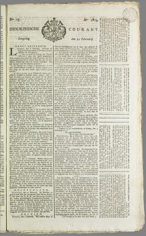 Zierikzeesche Courant 1814-02-22