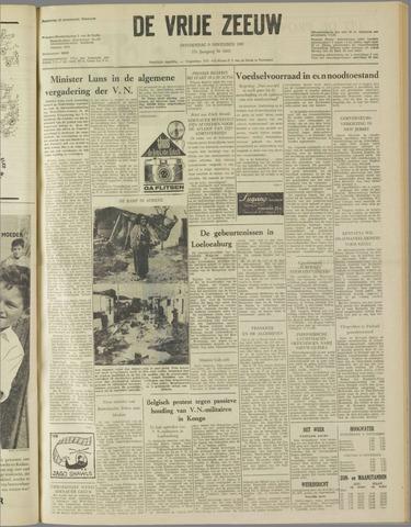 de Vrije Zeeuw 1961-11-09
