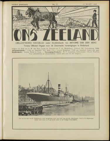 Ons Zeeland / Zeeuwsche editie 1929-03-16