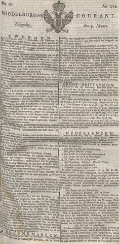 Middelburgsche Courant 1779-03-09