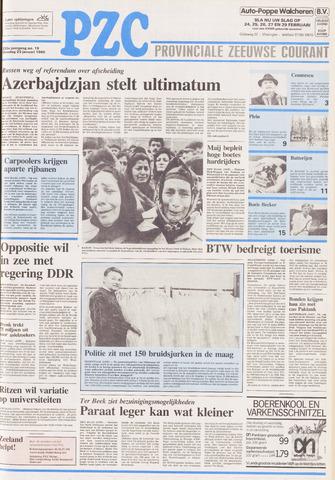 Provinciale Zeeuwse Courant 1990-01-23