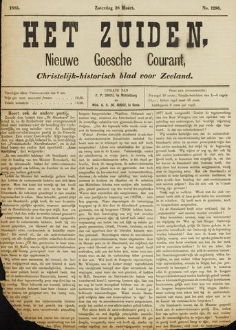 Het Zuiden, Christelijk-historisch blad 1885-03-28