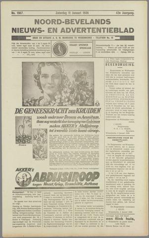 Noord-Bevelands Nieuws- en advertentieblad 1936-01-11