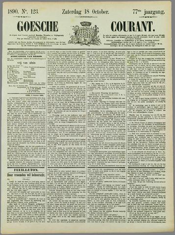 Goessche Courant 1890-10-18