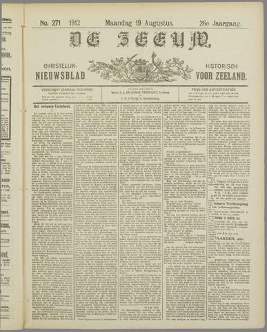 De Zeeuw. Christelijk-historisch nieuwsblad voor Zeeland 1912-08-19