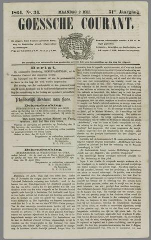 Goessche Courant 1864-05-02