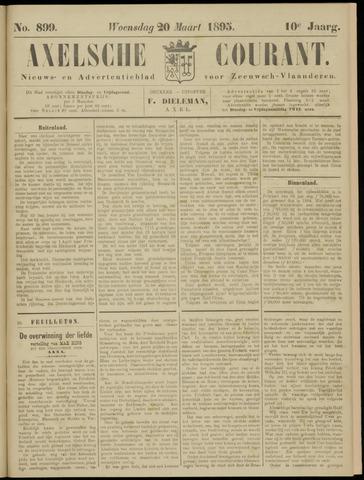 Axelsche Courant 1895-03-20