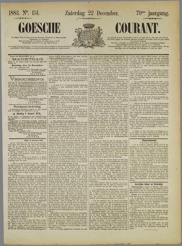 Goessche Courant 1883-12-22