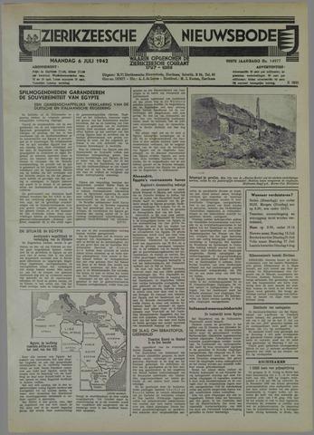 Zierikzeesche Nieuwsbode 1942-07-06