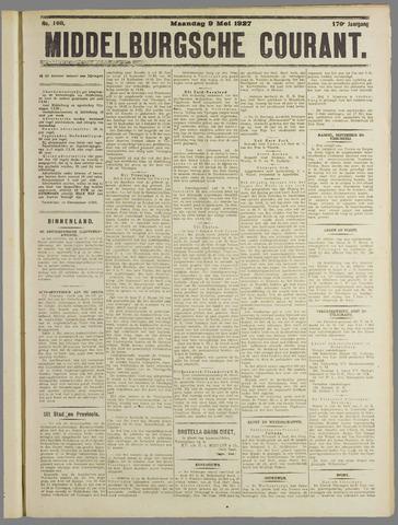 Middelburgsche Courant 1927-05-09