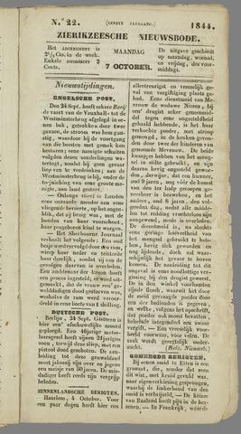 Zierikzeesche Nieuwsbode 1844-10-07
