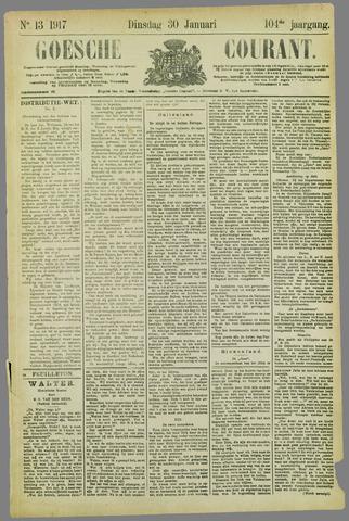Goessche Courant 1917-01-30