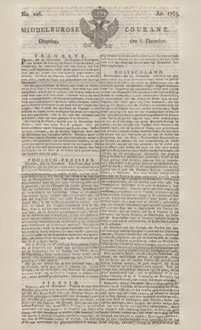 Middelburgsche Courant 1763-12-06